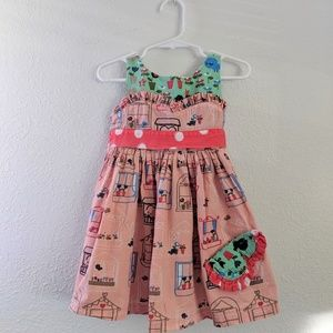 Jelly the Pug Boutique Dress - 18mo